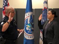 CBP Officer Sworn in at San Luis Field Office
