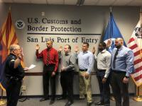 Five CBP Officers Sworn in at San Luis Field Office