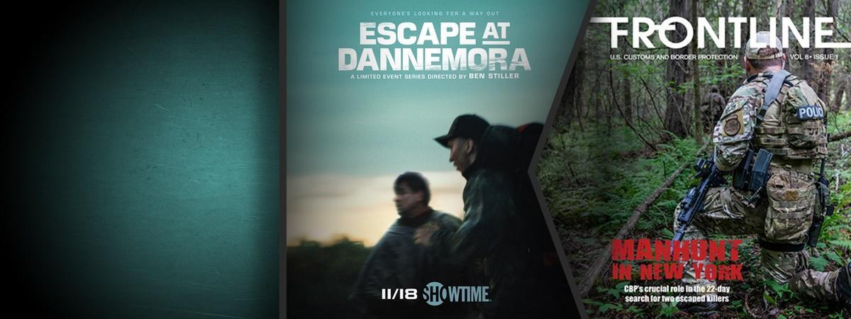 Frontline article cover and movie poster from 'Escape from Dannemora'