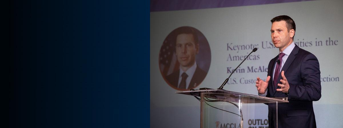 CBP Commissioner McAleenan delivers remarks at the Association of American Chambers of Commerce in Latin America