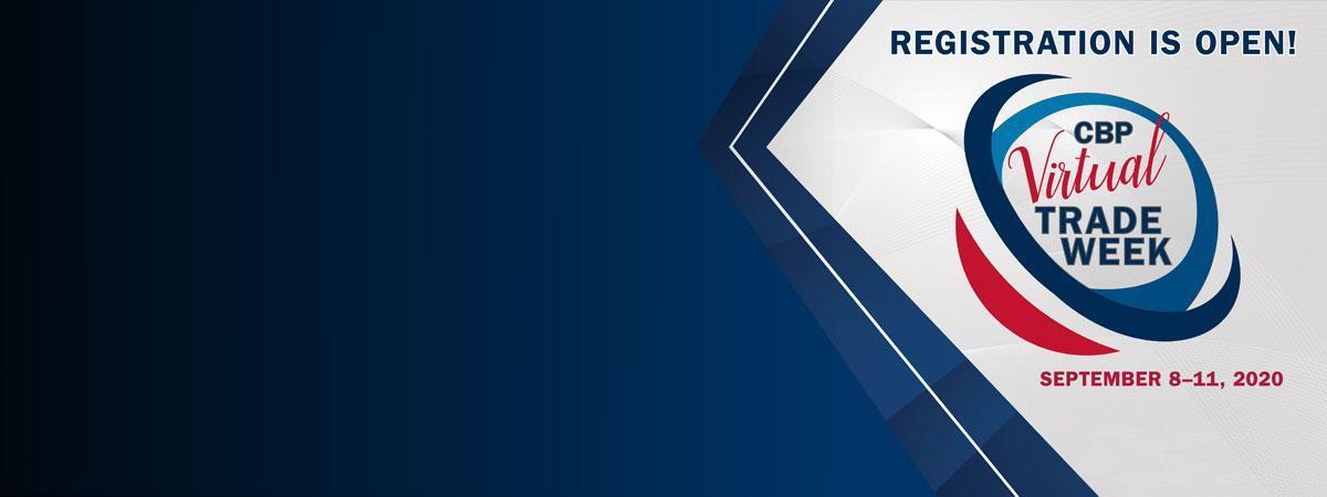 CBP Virtual Trade Show, September 8-11, 2020