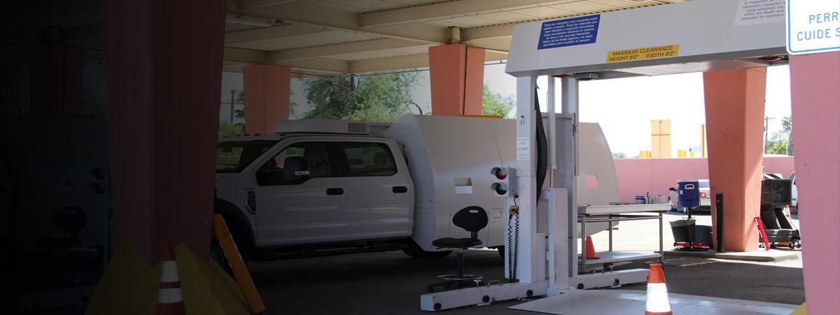 A new CBP mobile vehicle and passenger scanner