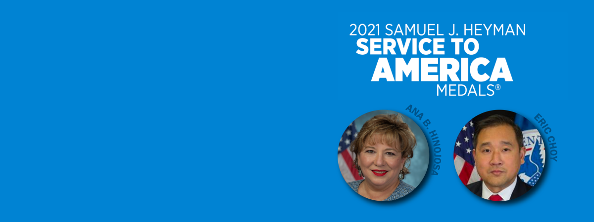 Sammies 2021 Web Banner with headshots of nominees