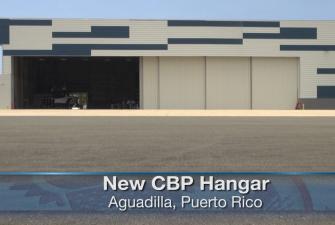 Photo of new hanger in Aguadilla, PR