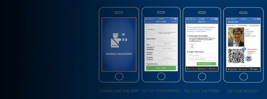 Mobile Passport Control Screenshots