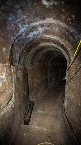 The Douglas Tunnel is an example of a sophisticated tunnel which required significant engineering to complete.