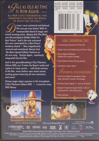 Fake Beauty and the Beast back cover