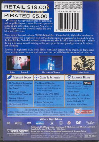 Fake Cinderella back cover