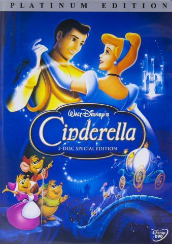 Fake Cinderella DVD front cover