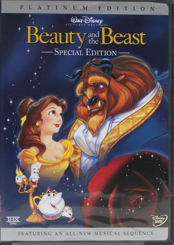 Real Beauty and the Beast DVD front cover
