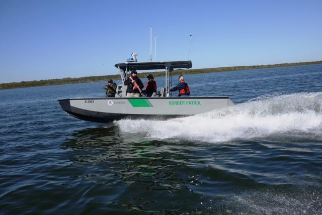 Avoiding the use of propellors in shallow waters,the newRiverine Shallow Draft Vessel uses advanced water jet technology.