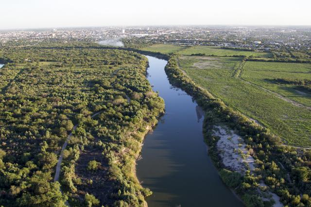 Serving as an international water border between the U.S. and Mexico, the Rio Grande River is 1,896 miles long.