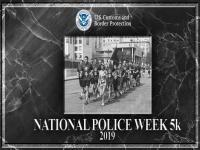 CBP Officers participating in the 2019 Police Week 5K run