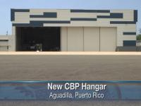 Photo of new hanger in Aguadilla, PR