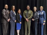 Photo of presenters at Women's leadership Symposium