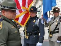 CBP personnel honor comrades who died in the line of duty.