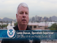 Photo of Lavon Duncan, Operations Supervisor for Office of Air and Marine