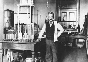 Chief Chemist Walter L. Howell in the New Orleans Customs Laboratory