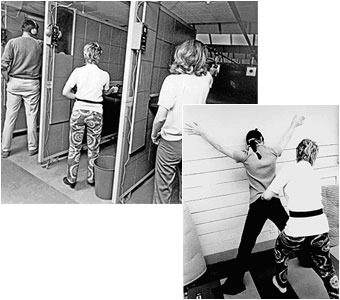 1971 - Sky Marshals training at Fort Belvoir, Virginia