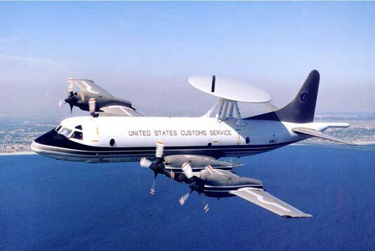 1999 photograph of the Lockheed P-3AEW early warning aircraft