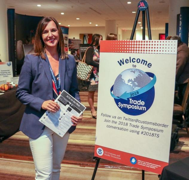 Lisa Schulte, senior director of global trade services for Target, one of the largest mass merchandizing retailers in the U.S. and importers of containerized freight, attended the Trade Symposium to hear updates on CBP's priorities and strategic initiatives.