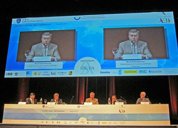 Panel members of the recent Global Authorized Economic Operator Conference in Spain