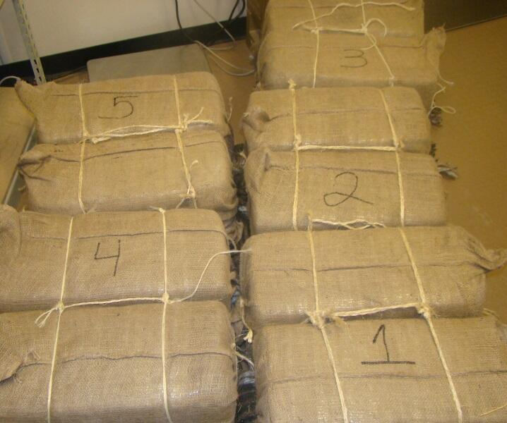 275 lbs. of abandoned marijuana found near Calexico