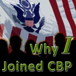 Text that reads Why I Joined CBP