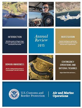 Air and Marine Operations 2015 Annual Review