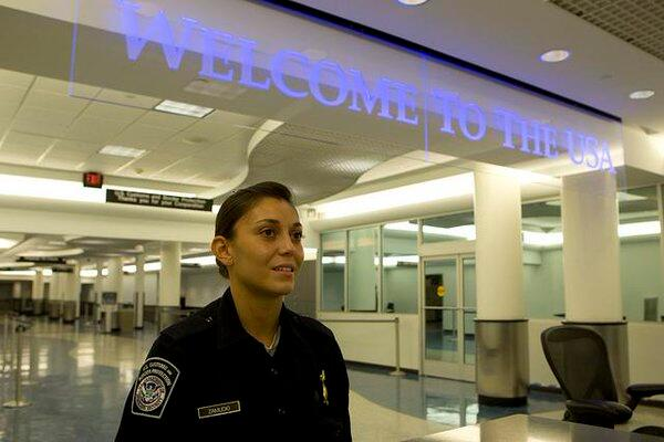 CBP officers welcome more than a million travelers a day to the U.S.