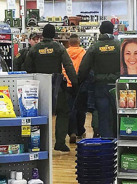 Border Patrol agents arrest subjects illegally present in the U.S.