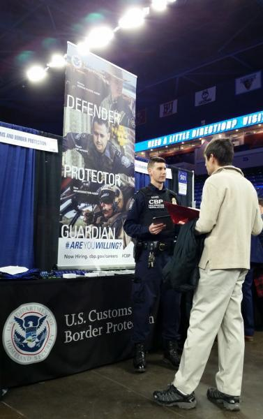 Interested applicants can discuss career options with CBP recruiters at events throughout New England.