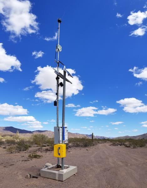 Rescue Beacon in Tucson Sector