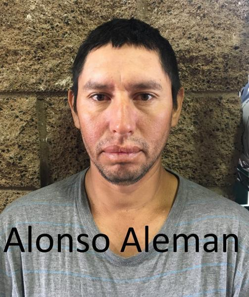 Alonso Aleman, an admitted MS-13 gang member, was arrested in Tucson Sector by Border Patrol agents Feb. 20.