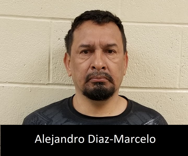 Convicted sex offender Alejandro Diaz-Marcelo