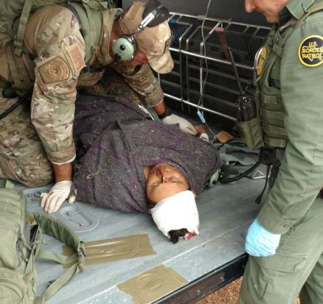 Border Patrol Agents Rescue Man Abandoned by Smugglers