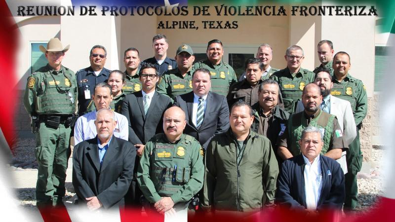 BBT Acting Chief Velazquez and LEA's from MX and U.S.