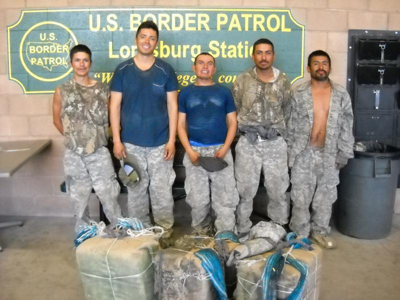 Smugglers apprehended by El Paso Sector agents