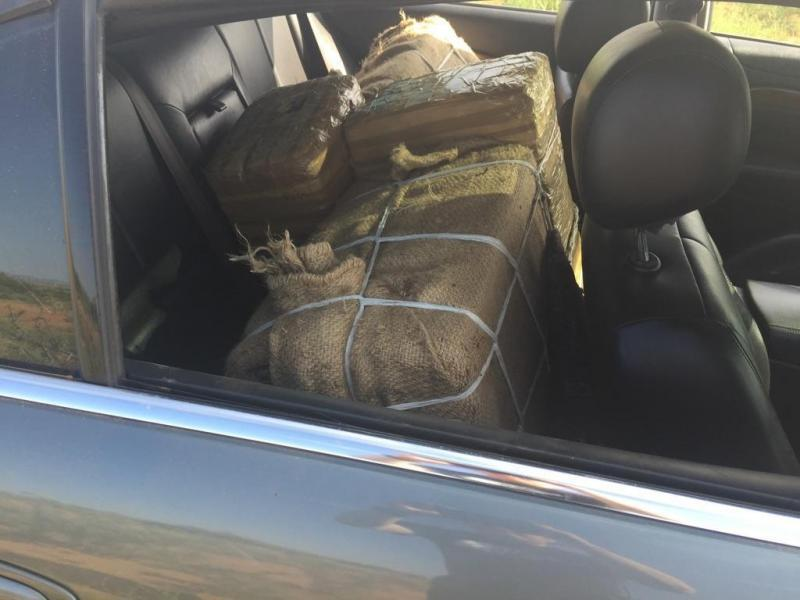 Marijuana seized early on September 2 by Border Patrol agents assigned to the Deming station.