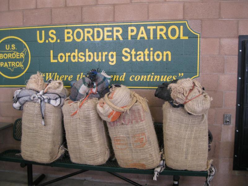 Contraband seized near Lordsburg