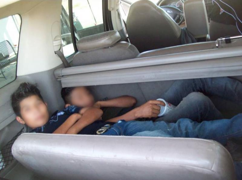 Yuma Sector Border Patrol Arrests Two USCs | U.S. Customs