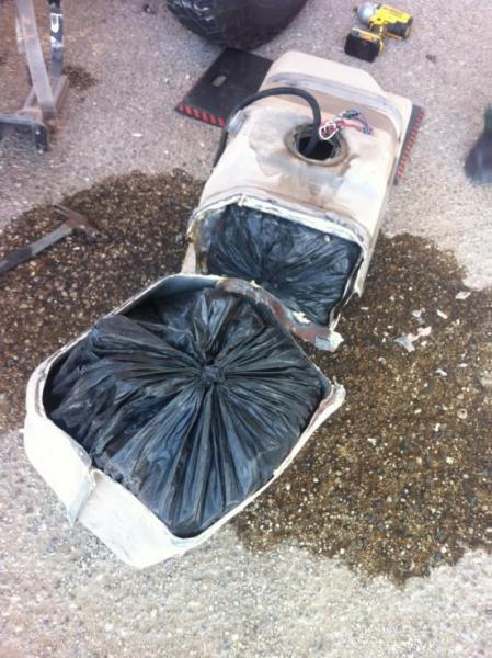 Border Patrol seizes methamphetamine hidden in a gas tank at 111 Checkpoint on Saturday.