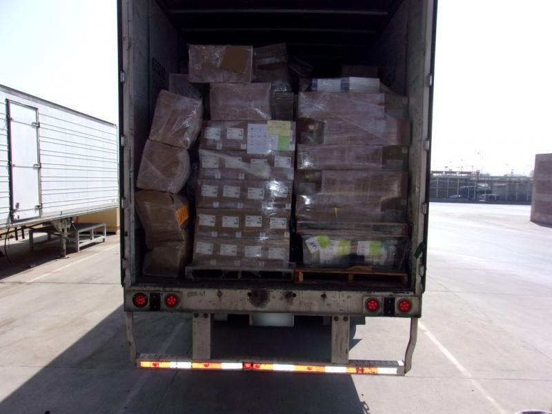 U.S. Customs and Border Protection officers at the Otay Mesa commercial facility Friday seized more than 3,100 pounds of methamphetamine, fentanyl powder, fentanyl pills and heroin as part of the second largest methamphetamine bust along the southwest border