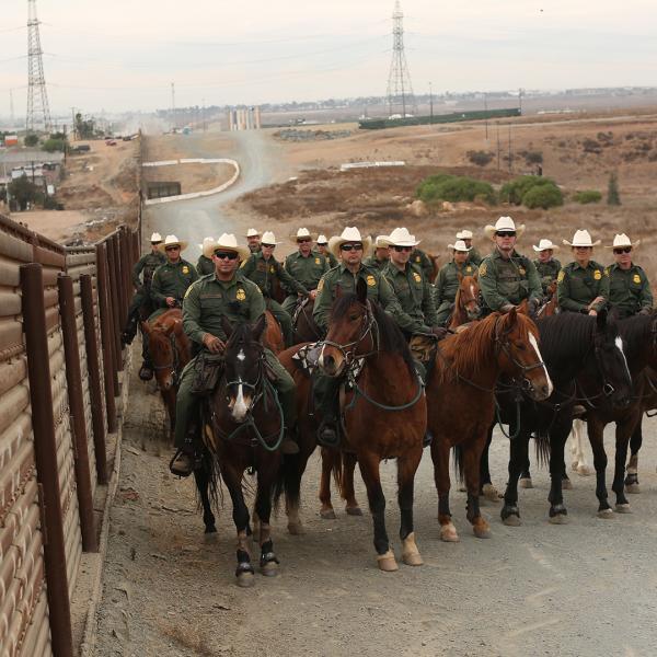San Diego Sector Horse Patrol Unit.