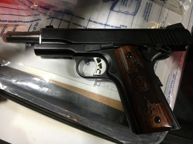 Border Patrol agents in Blythe, California, stopped a vehicle and arrested a wanted felon in possession of a loaded handgun and drugs.