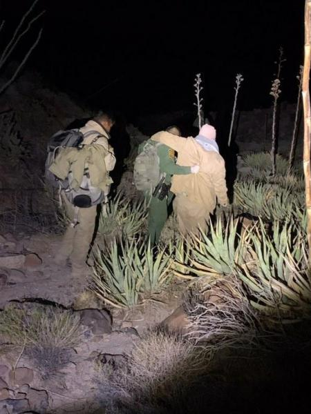 Border Patrol agents rescue three men in the Jacumba Mountain Wilderness