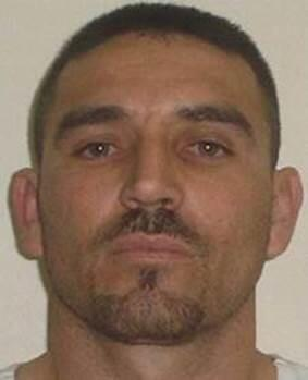 Martel Valencia-Cortez is wanted after assaulting a federal agent; he is at large and considered armed and dangerous.