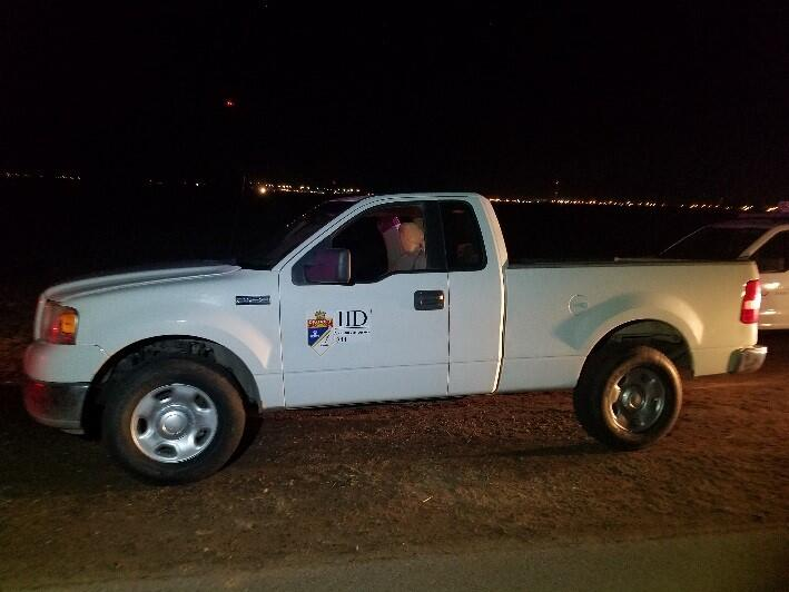 Border Patrol discovers cloned IID truck with fake decals.