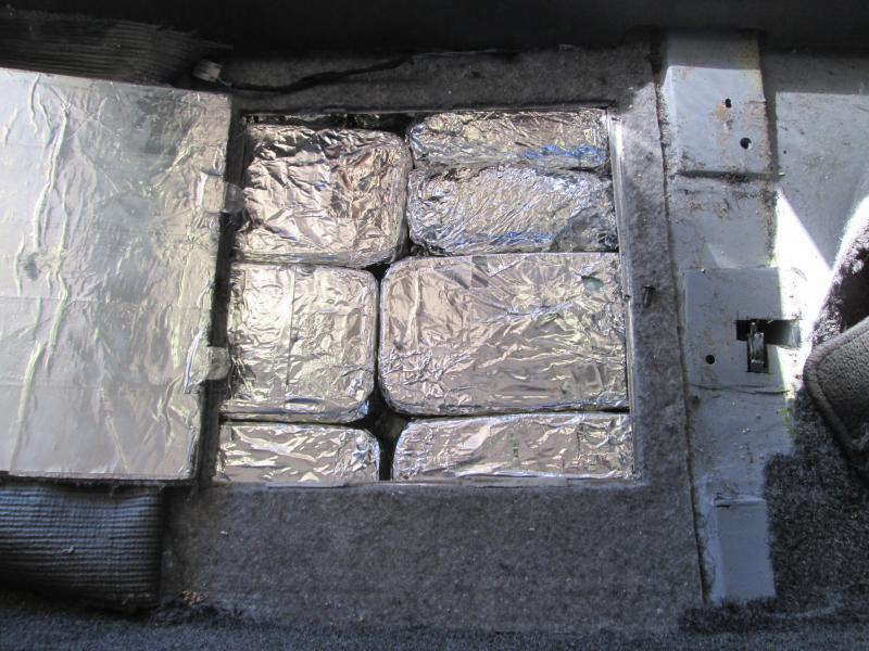 Officers found 368 lbs. of meth in 24-hour period.