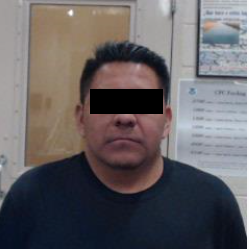Carlos Campos, convicted sex offender arrested by Border Patrol.